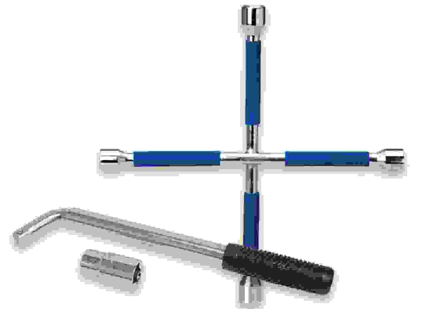 Clé à écrous et clé en croix »