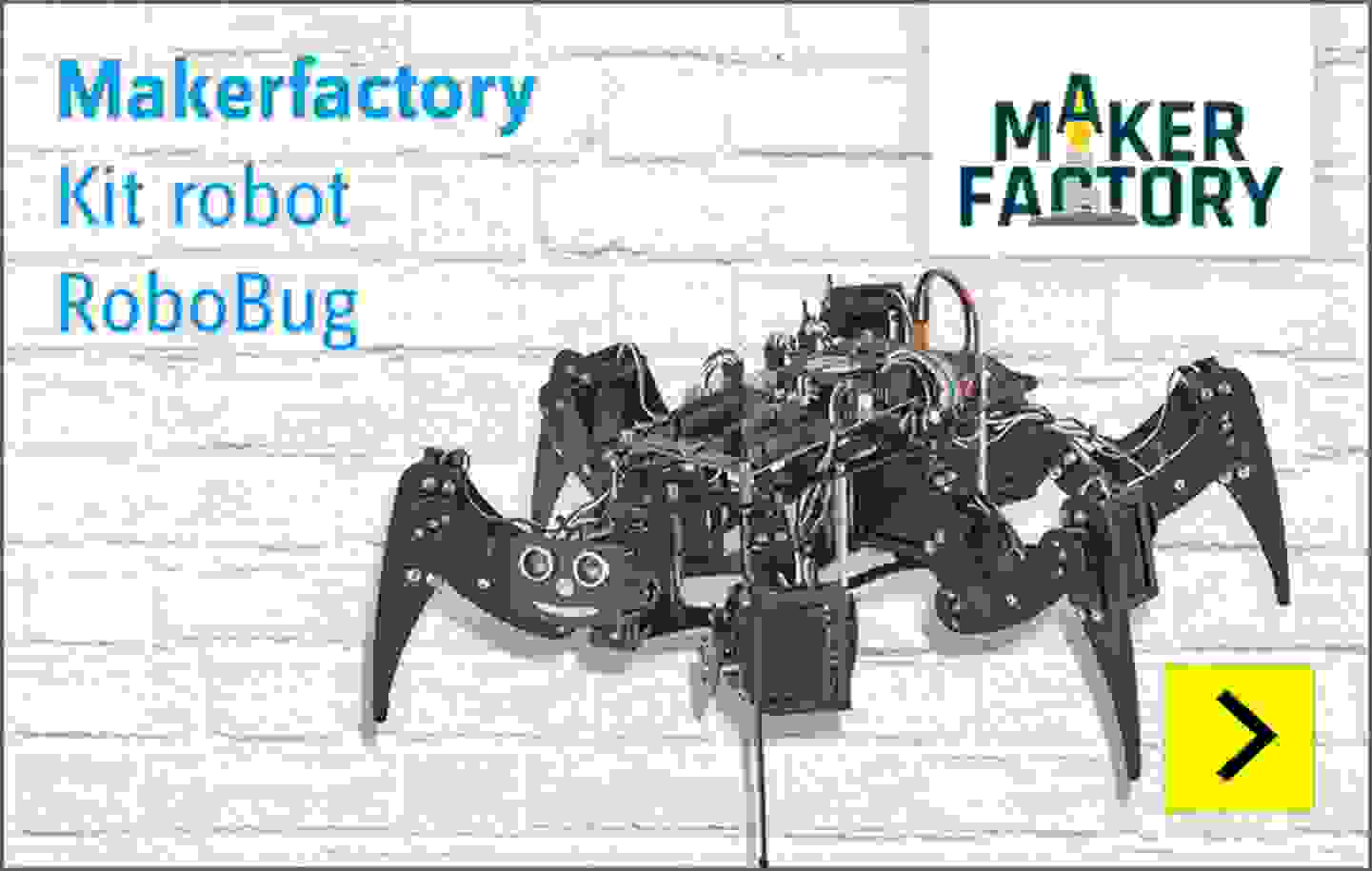 Makerfactory - Kit robot RoboBug