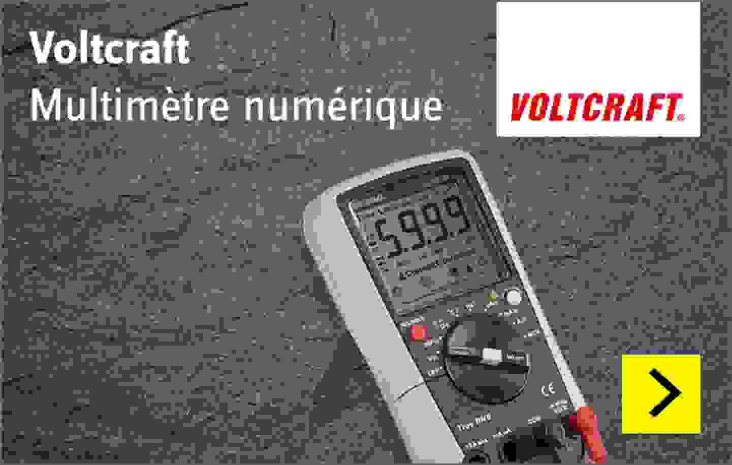 Voltcraft - Multimètre numérique VC276