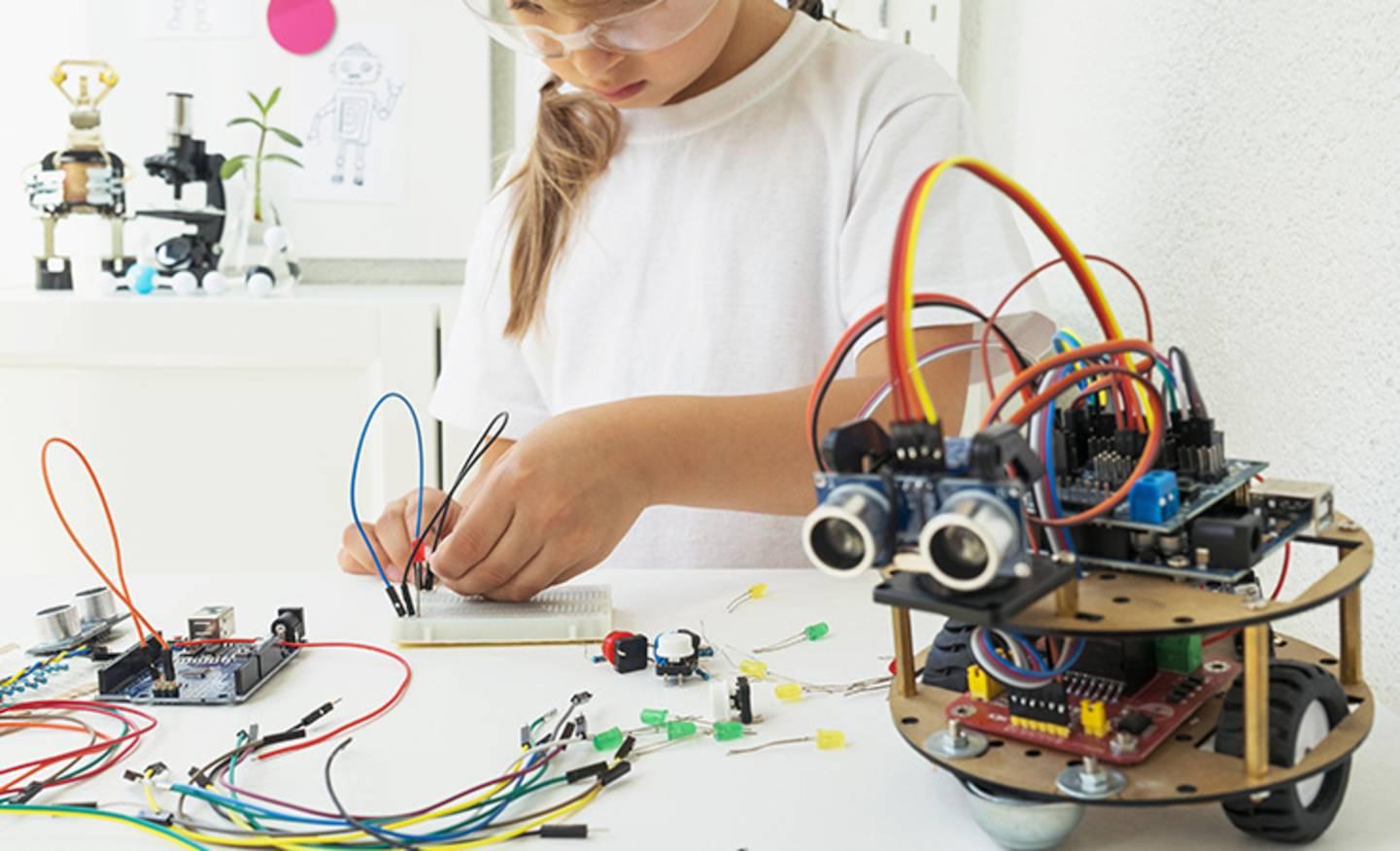 Voir tous les kits de développement et les robots »