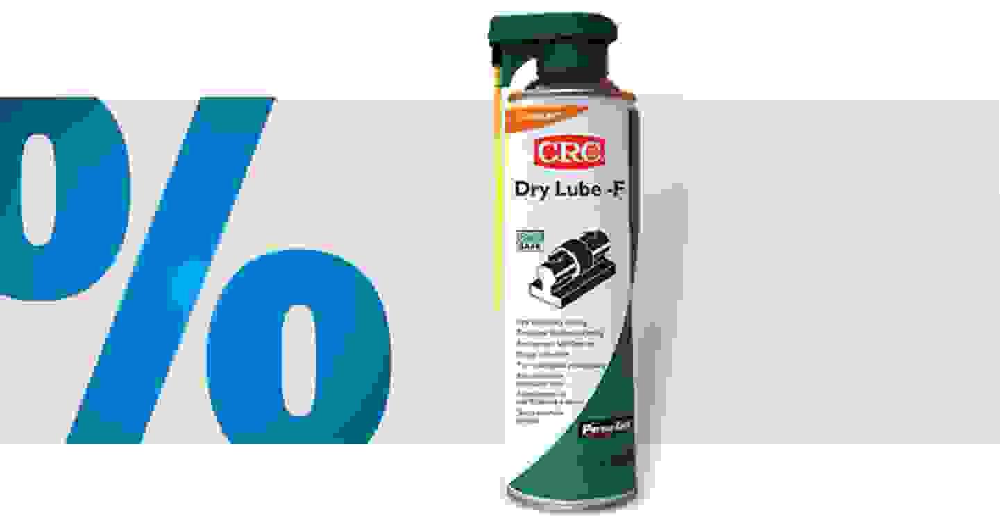 CRC - Dry Lube-F 32602-AA - lubrifiant sec 500 ml »
