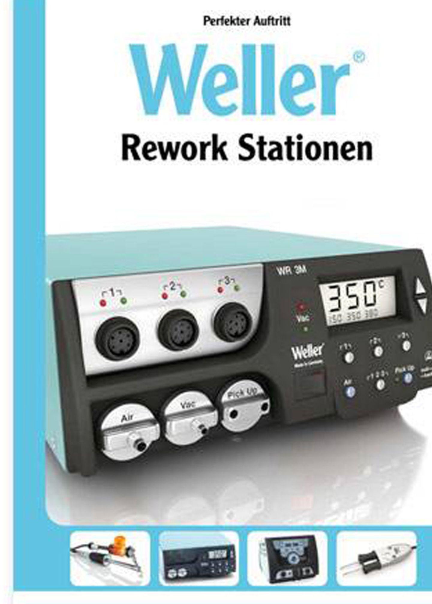 Stations de réparation Weller