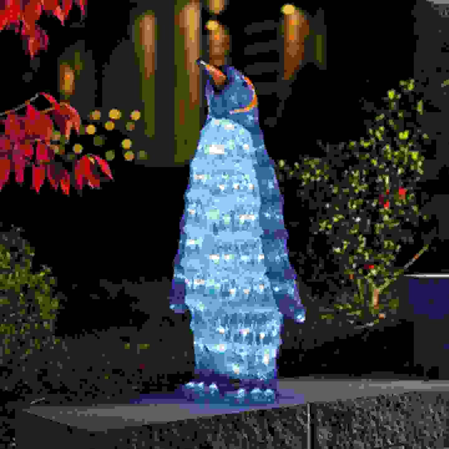 Konstsmide - Figurine Pingouin acrylique LED »