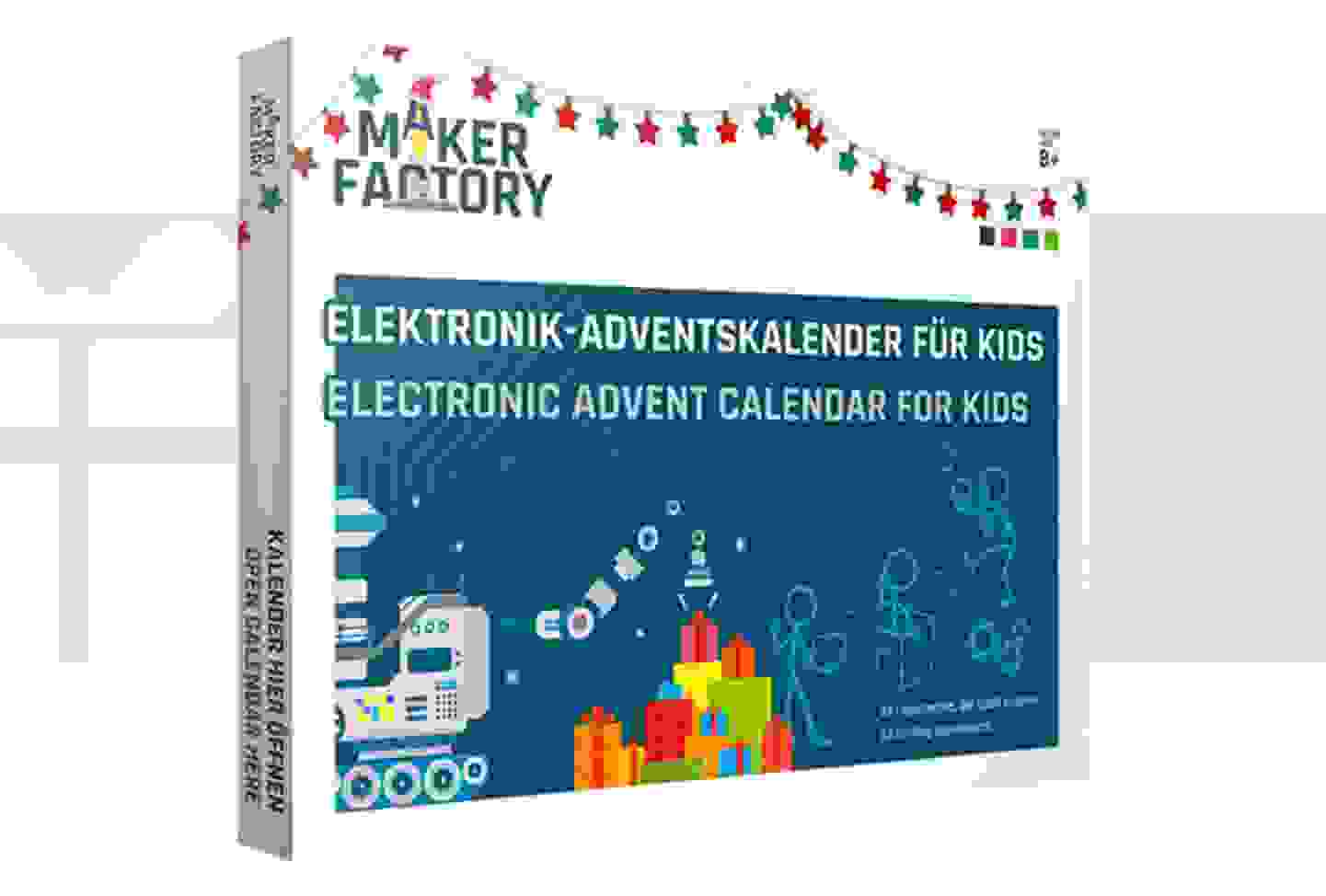 Makerfactory - Calendrier de l'Avent électronique pour enfants