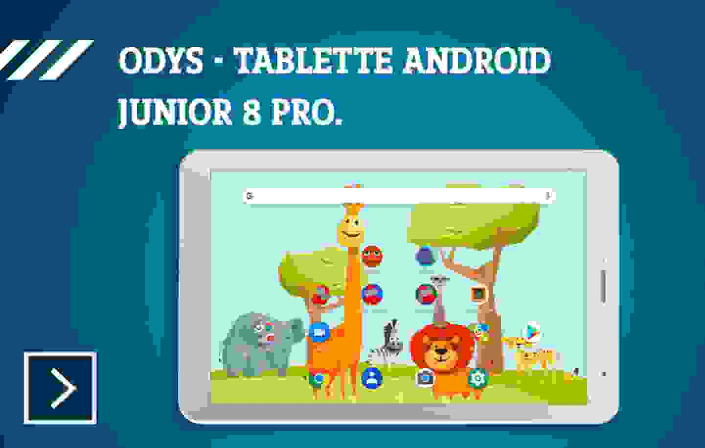 Odys - Junior 8 PRO Android-Tablet »
