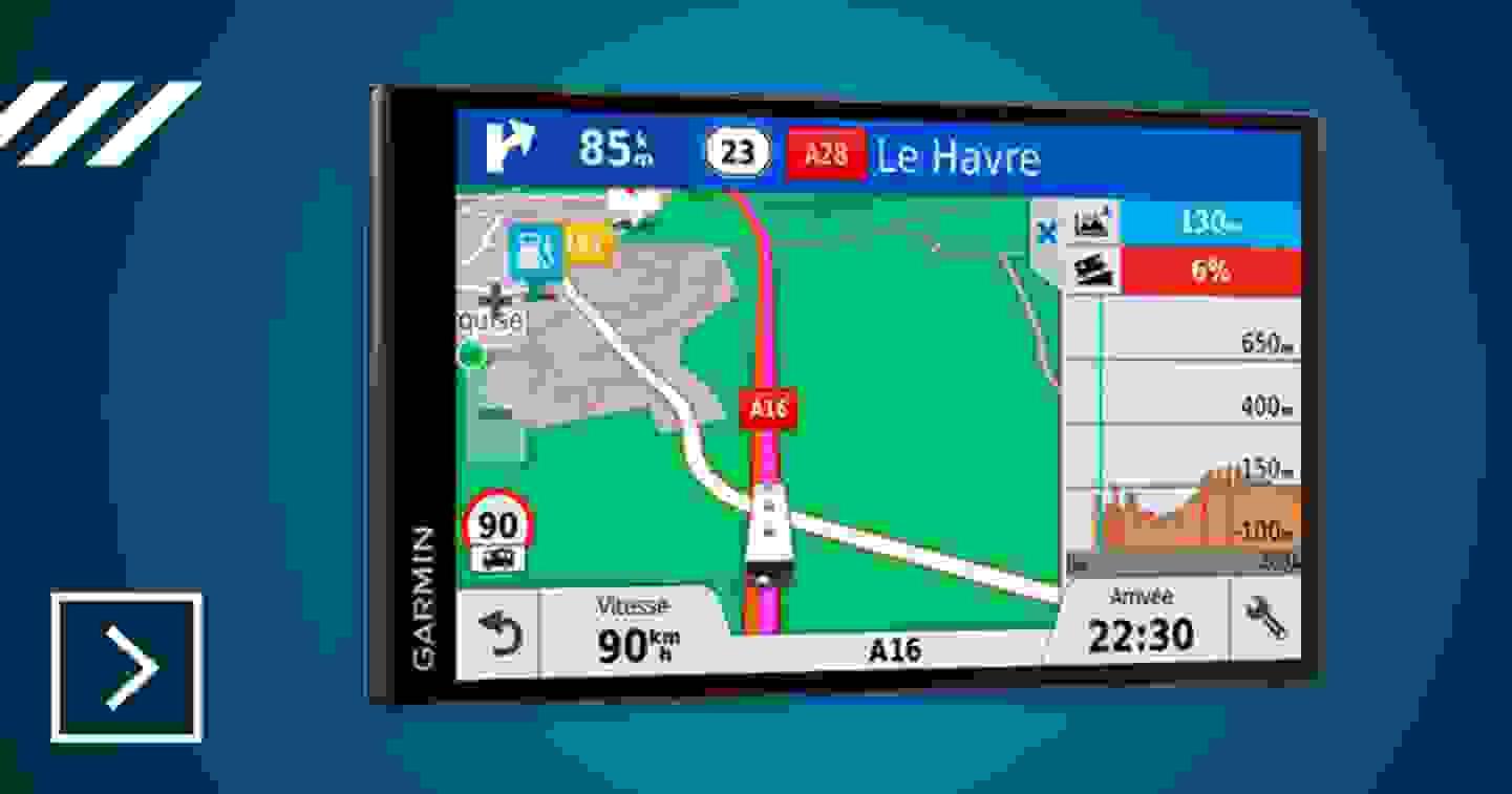 Garmin - GPS pour camping-car Europe »