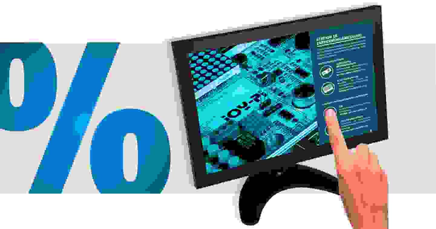 """Joy-it - Ecran tactile, classe énergie : A+ (A++ à E) 25.4 cm (10"""") 1280 x 800 pixels HDMI®, USB, VGA, BNC, AV I »"""