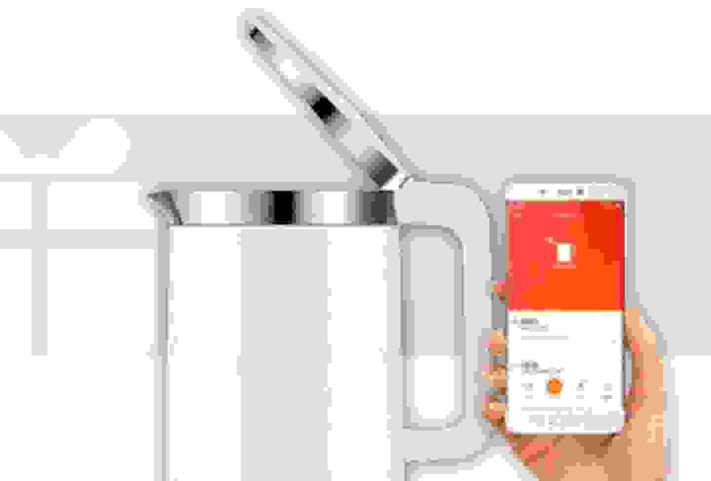 Xiaomi - Bouilloire connectée, commandable par appli »