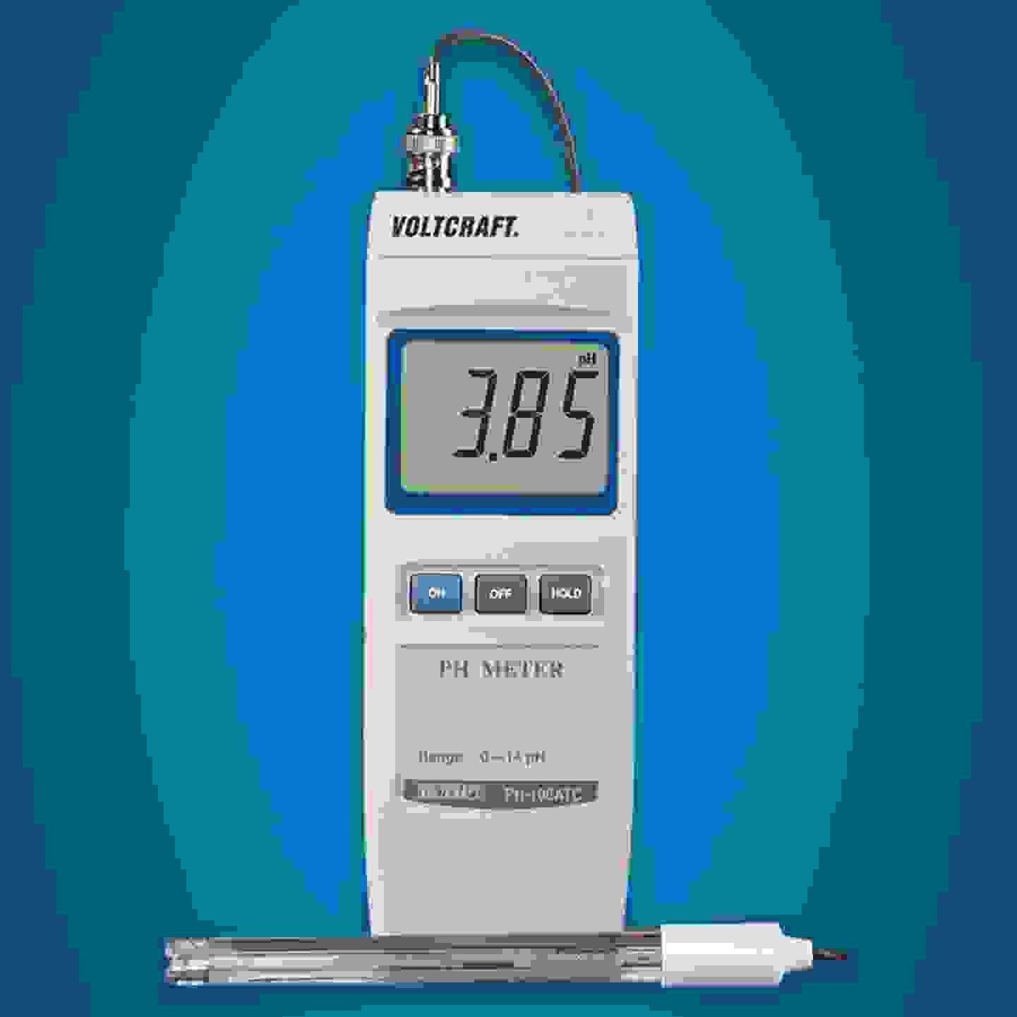 Voltcraft - PH-100 ATC - pH-mètre »