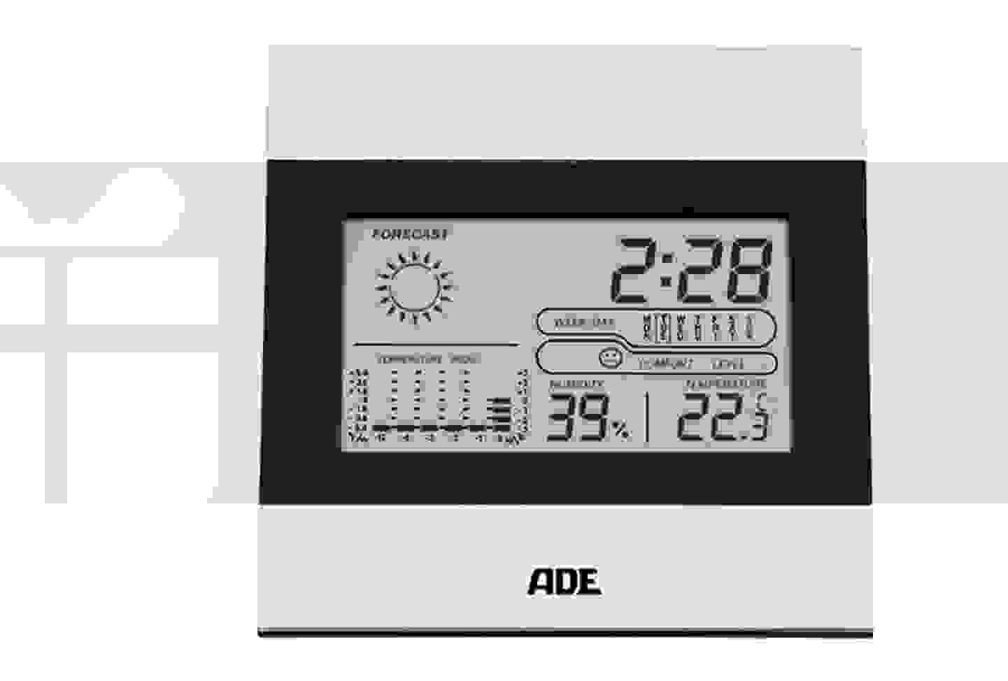 ADE - WS 1815 - Station météo sans fil, prévisions 24h
