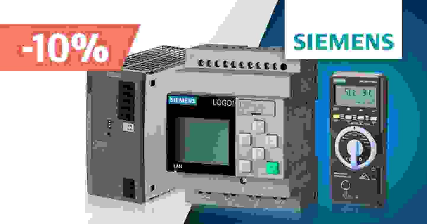 Siemens - Promotion 10% sur une sélection de produits