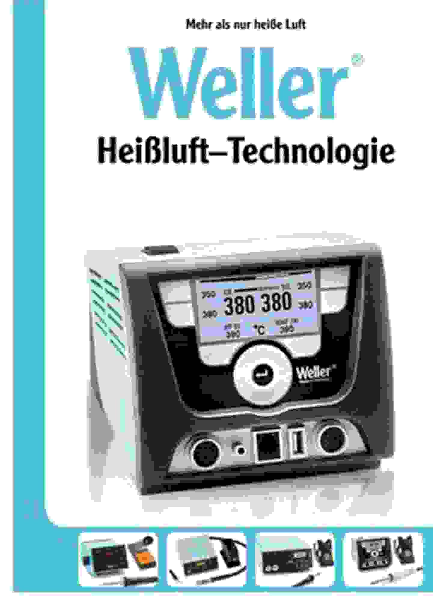 Technologie air chaud Weller