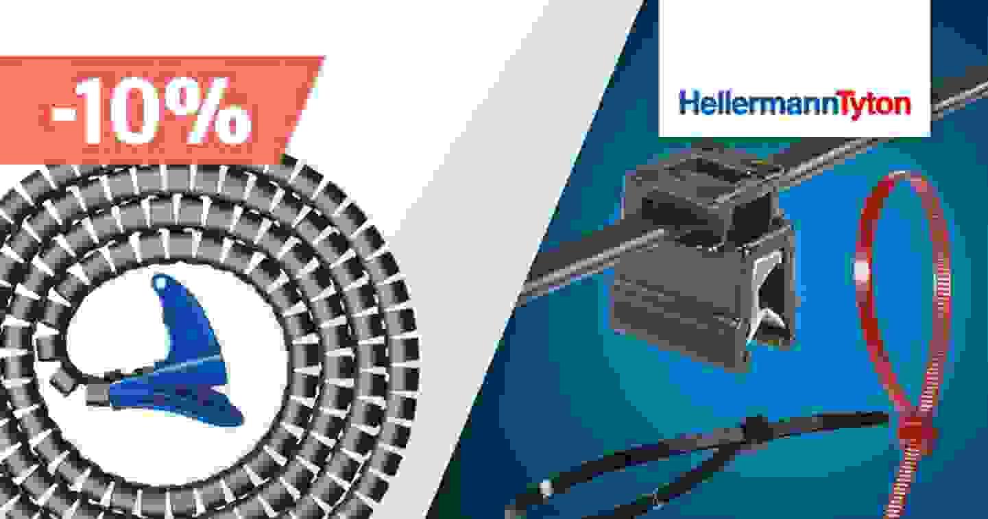 Hellermann Tyton - Promotion de 10% sur une sélection de produits