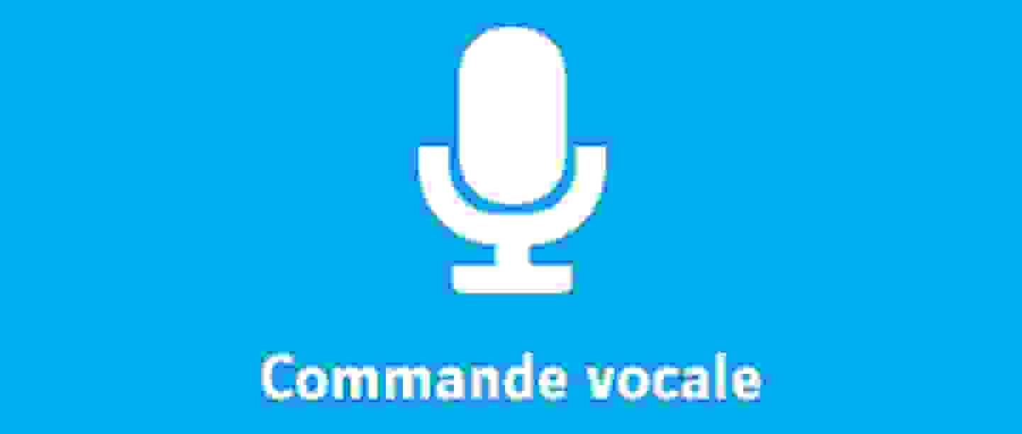 Commande vocale