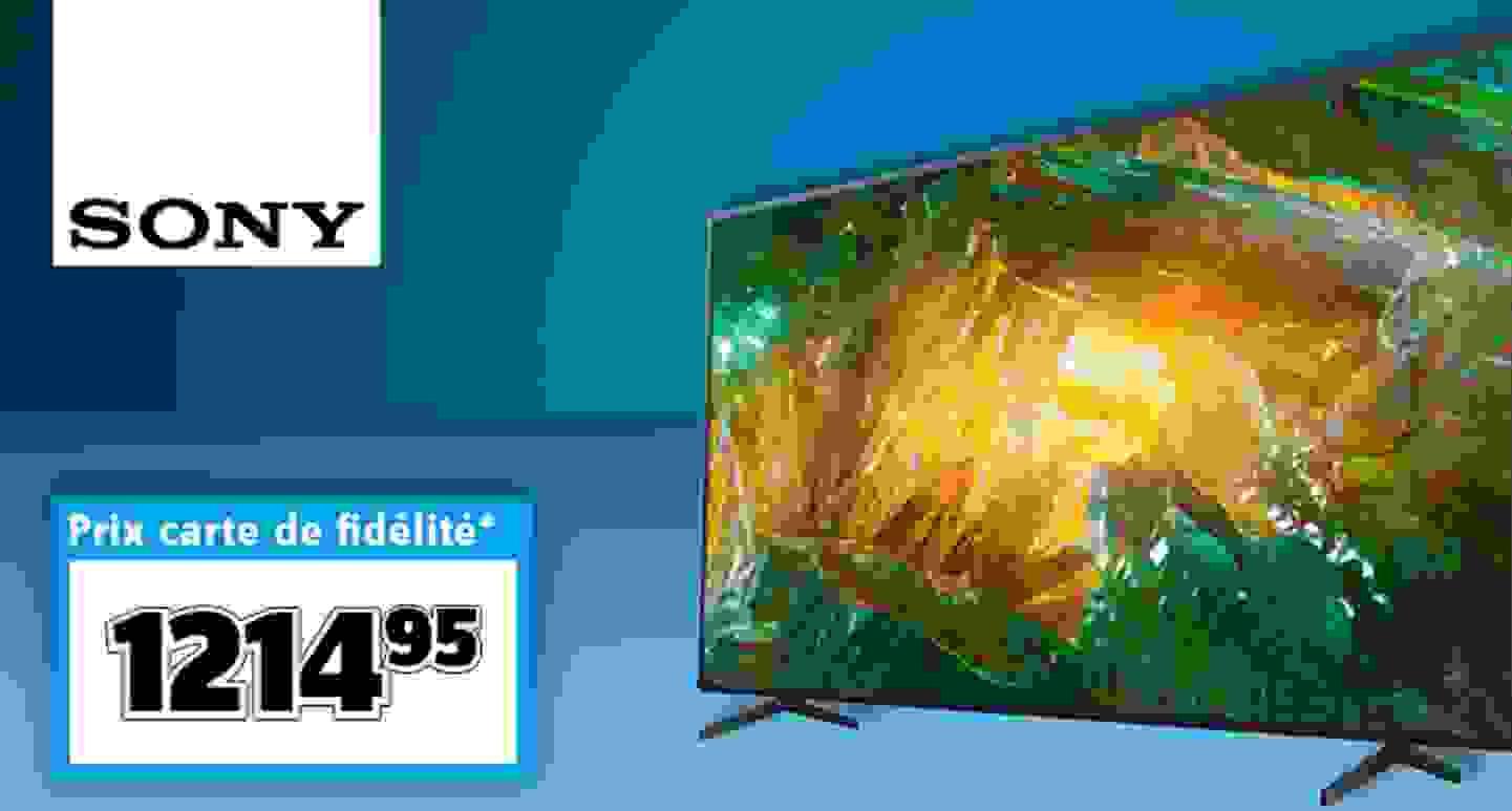Sony - Smart TV LED noire »