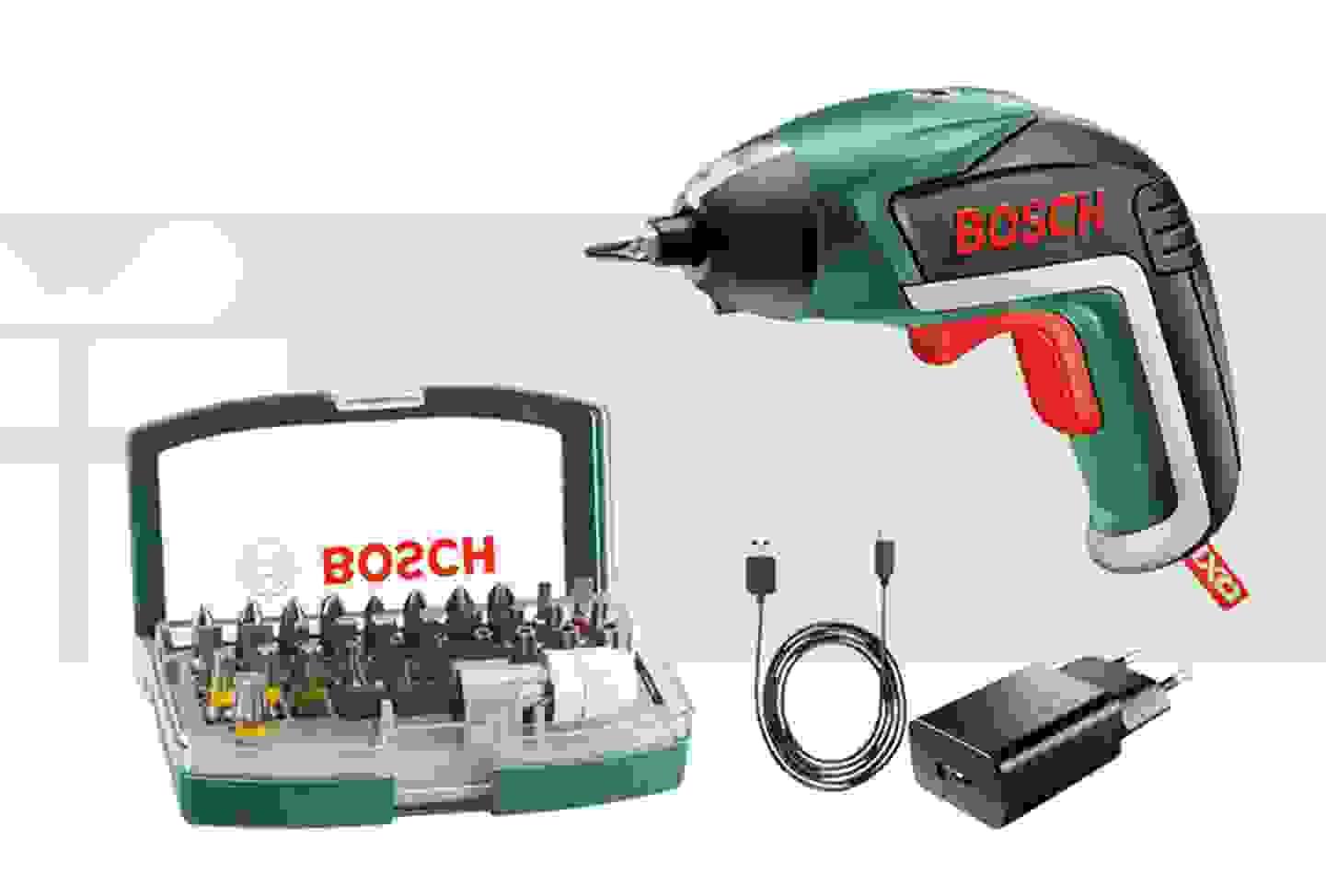 Bosch - Visseuse sans fil 3.6 V 1.5 Ah Li-Ion avec batterie et accessoires