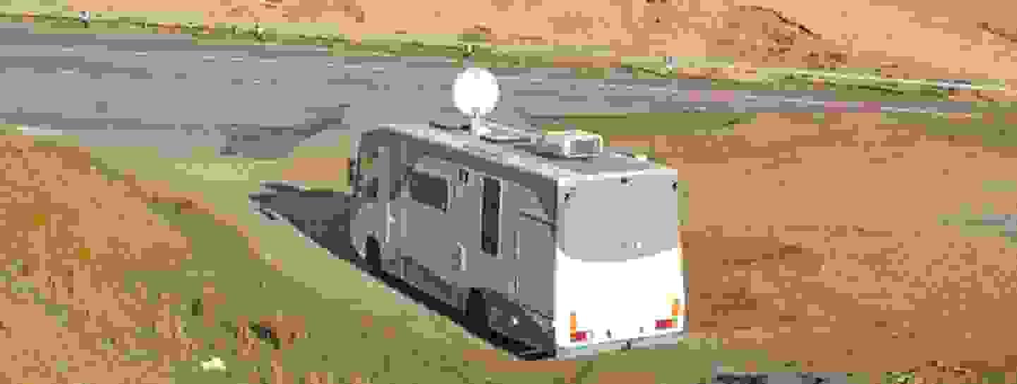 Caméra de recul - le deuxième élément important en caravane