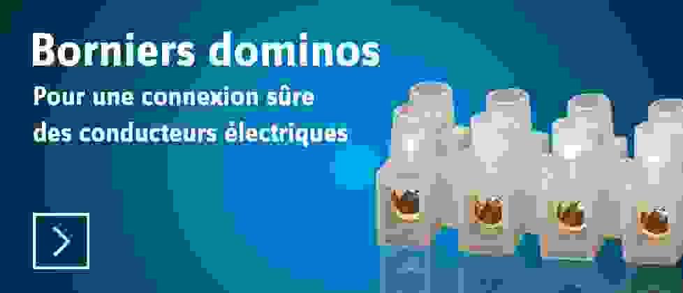 Borniers dominos - Découvrir »