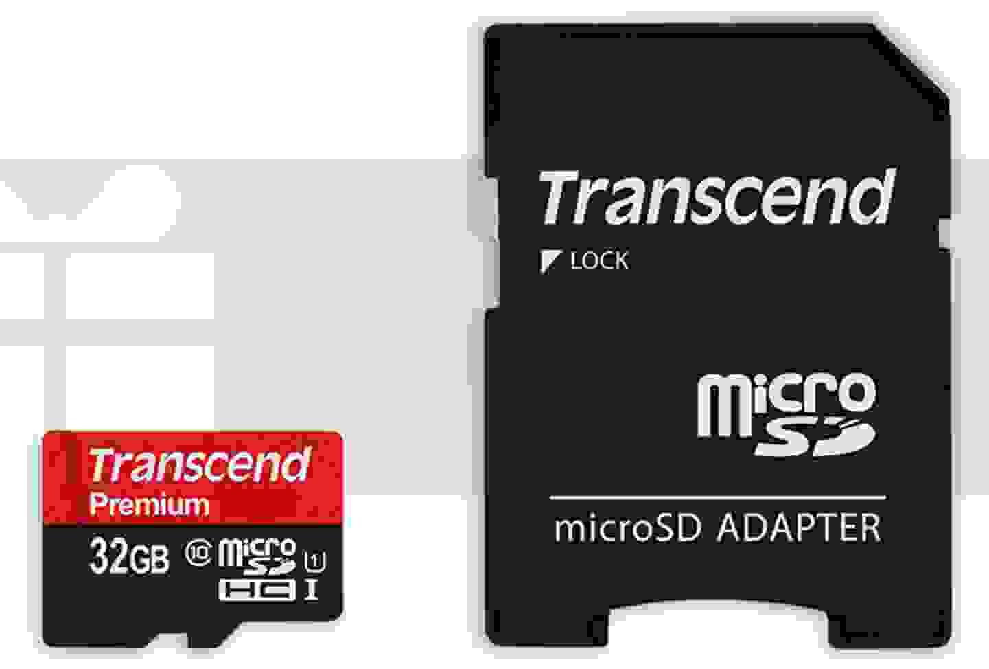 Transcend - Carte microSDHC (32 Go) »