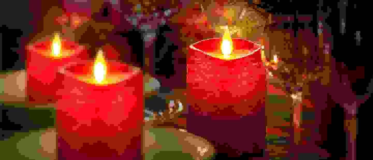 Bougies LED - Une ambiance détendue à la lueur des bougies
