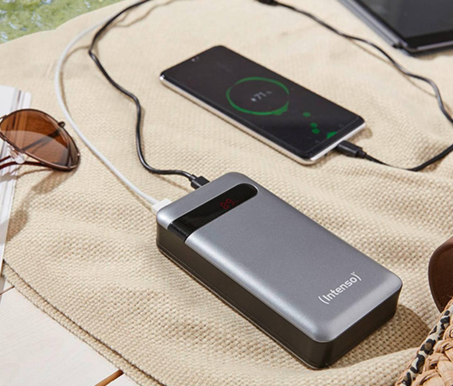 Intenso - PD20000 Powerbank (Zusatzakku) LiPo 20000 mAh »