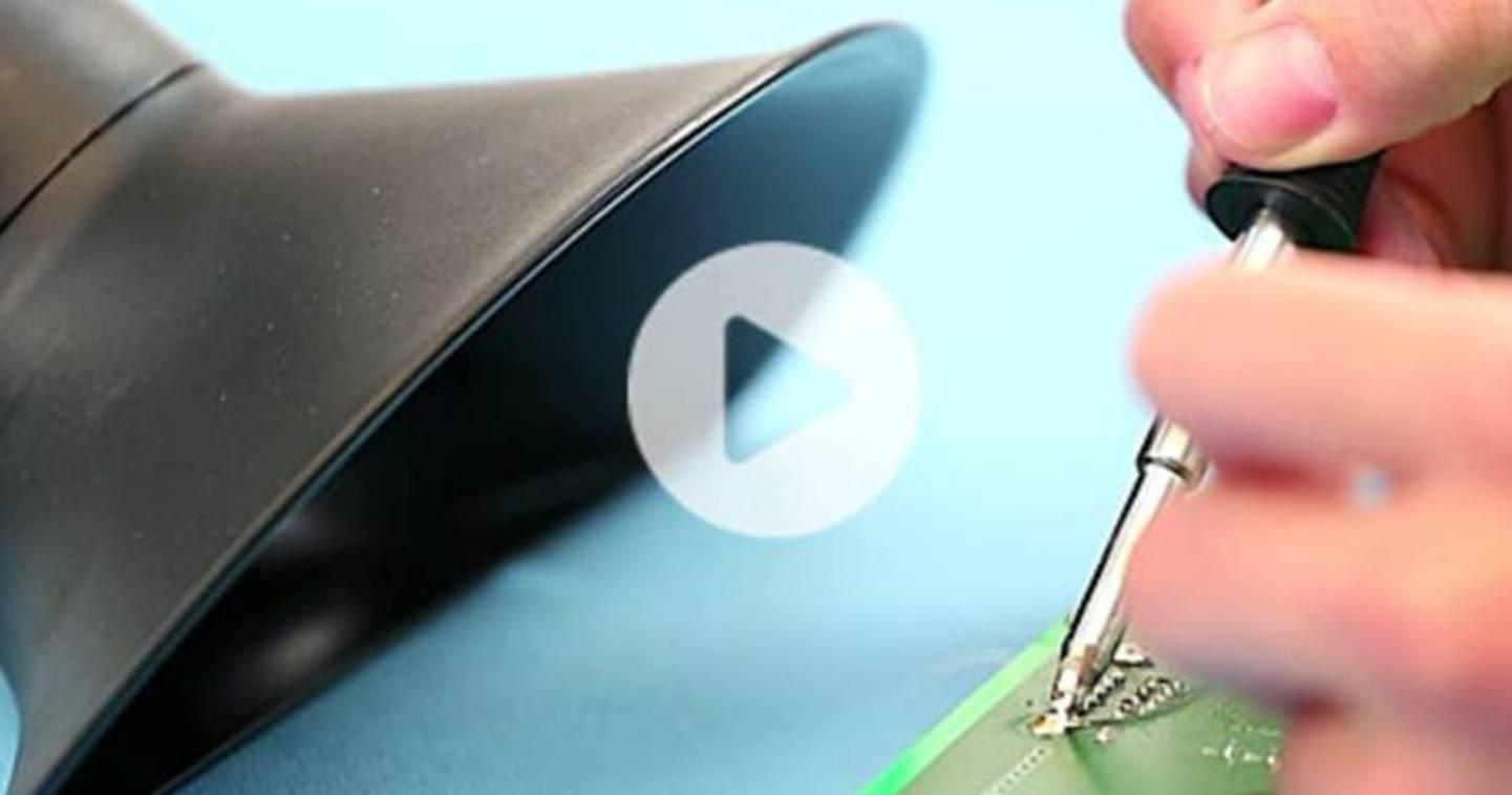 Extraction des fumées de soudage - Vidéo »