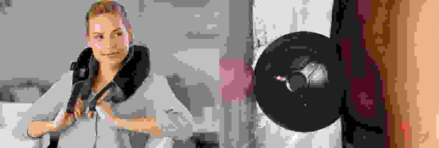 Medisana - Appareil de massage de la nuque et boule vibrante »