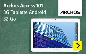 Archos Access 101 - Tablette Android 3G
