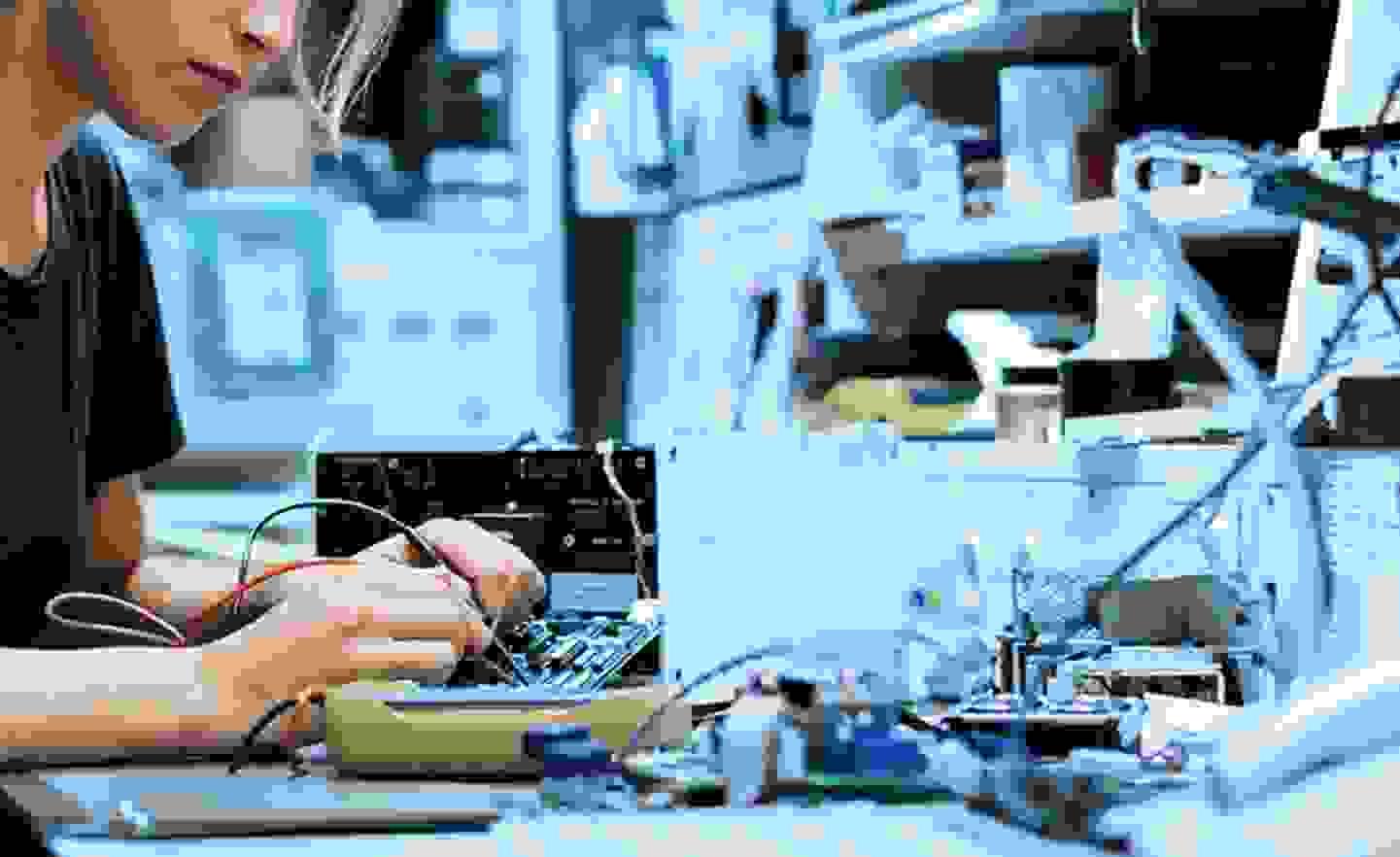Recherche de panne avec le testeur de composants »