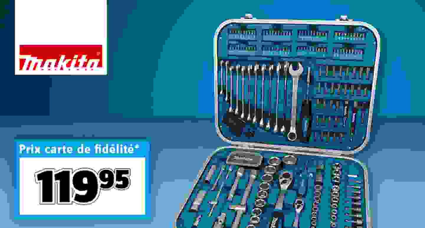 Makita - Jeu d'outils pour bricoleur en mallette »