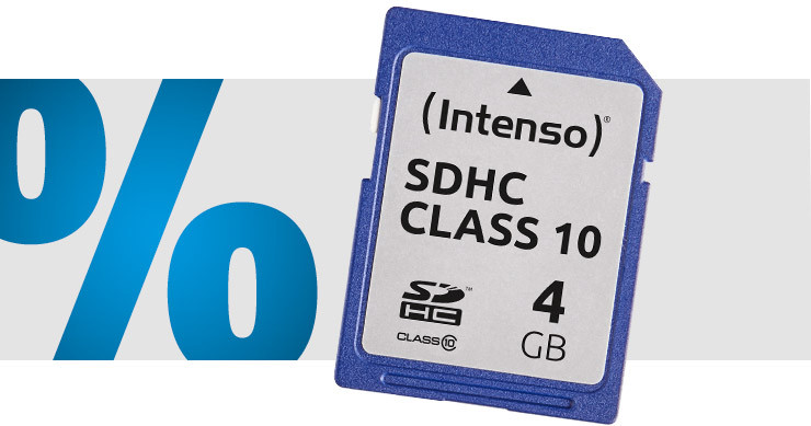 Intenso - Carte SDHC 4 Go Class 10