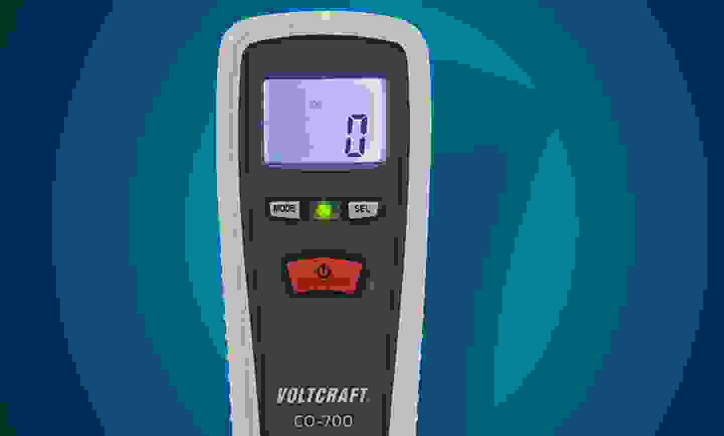 Voltcraft - CO-700 - Détecteur de monoxyde de carbone 0 - 1000 ppm »