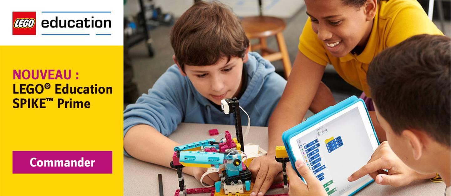 LEGO Education Spike Prime - Commander maintenant