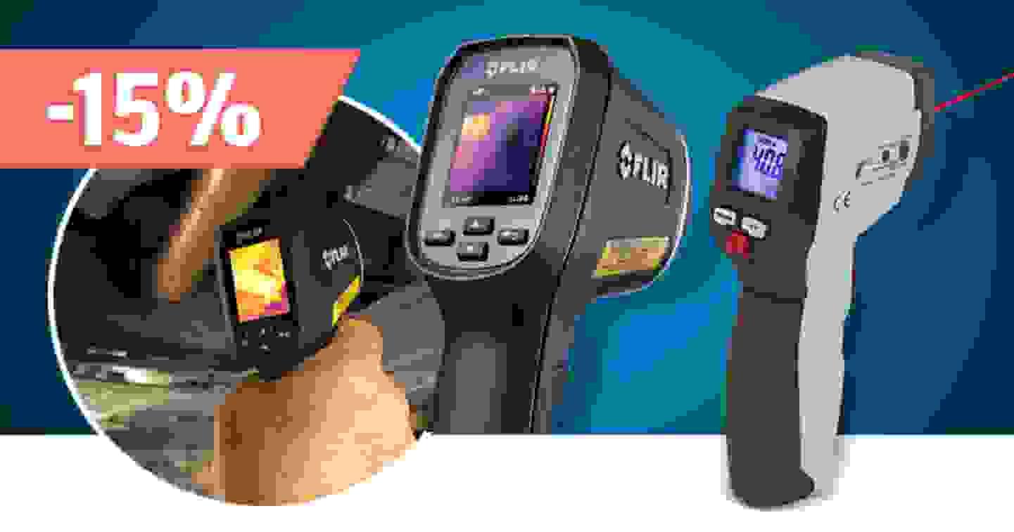 Thermomètres infrarouges, pyromètres – Découvrir la gamme et profiter des réductions »