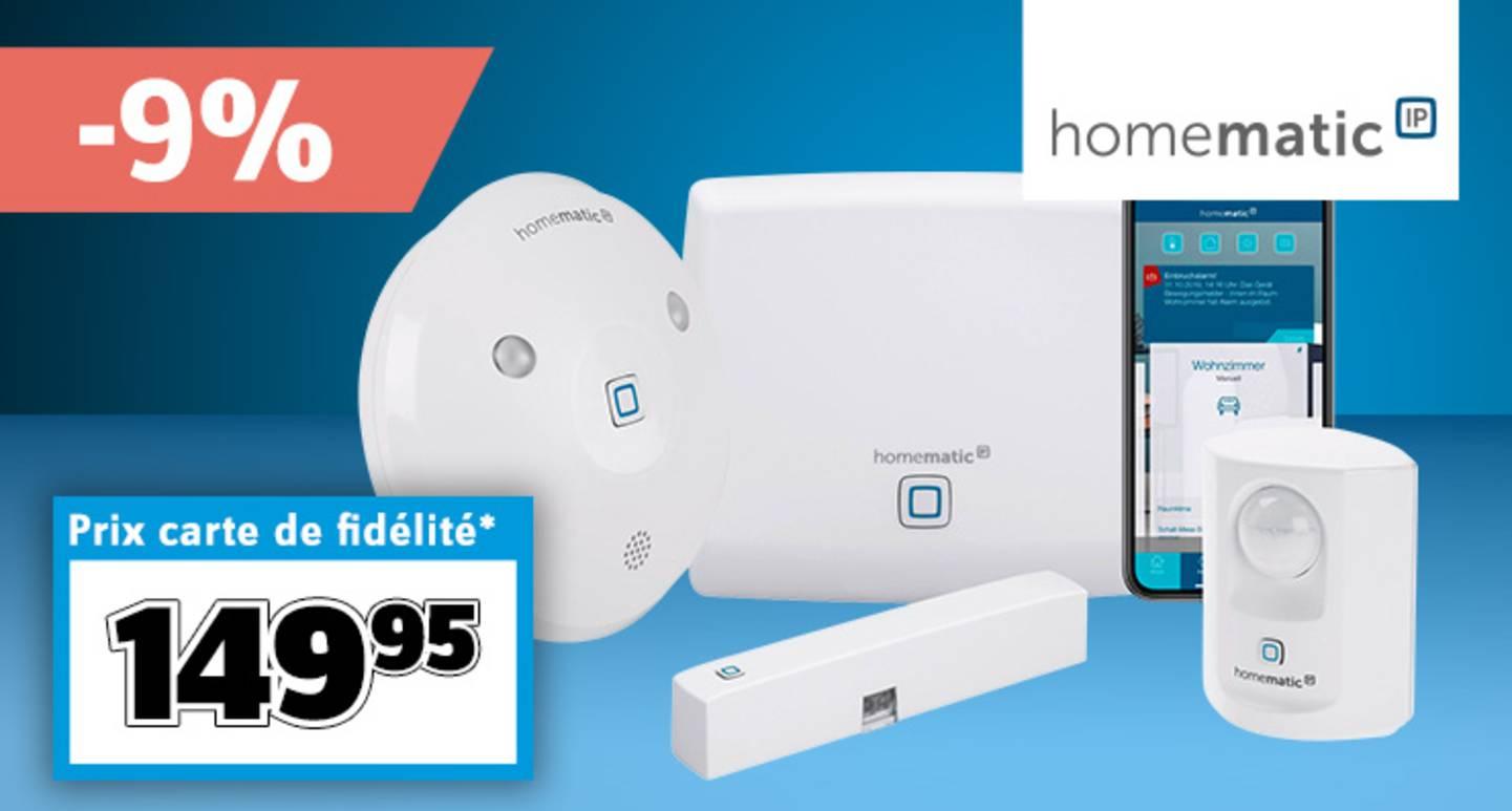 Homematic IP - Kit de départ alarme HmIP-SK7