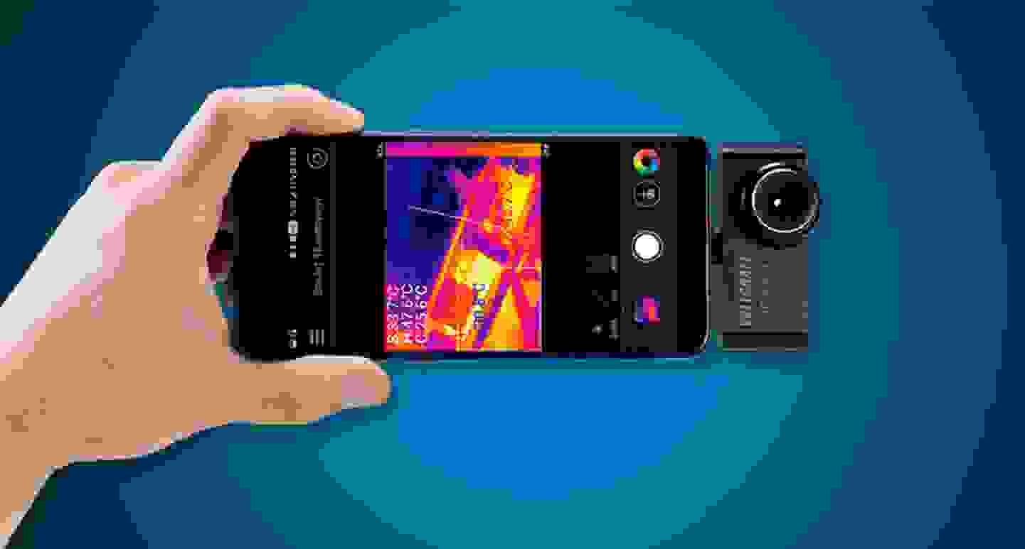 Voltcraft - Caméra thermique pour smartphone -10 à 330 °C »