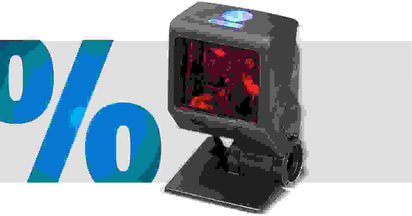 Honeywell - AIDC Quantum T - Lecteur de codes-barres filaire 1D laser noir, lecteur fixe USB »