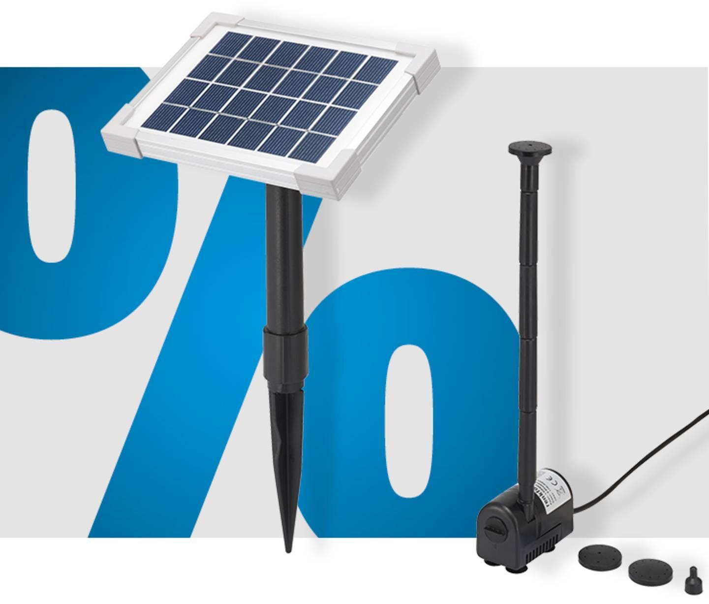 Voir le produit  - Set pompe solaire »