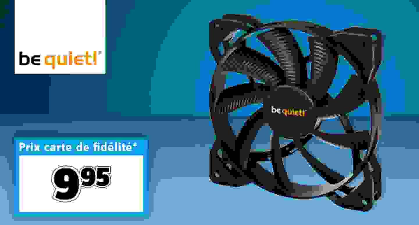 BeQuiet - Pure Wings 2 - Ventilateur de tour PC noir »