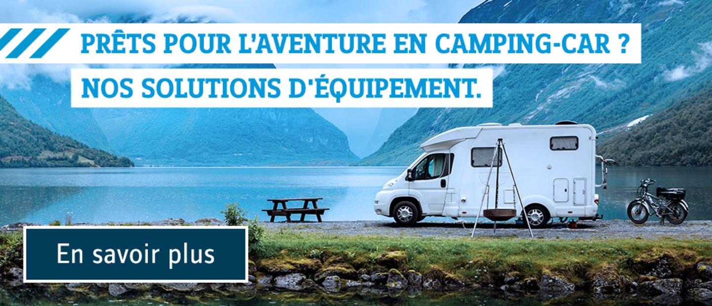 Camping en caravane - Voyager léger en camping-car