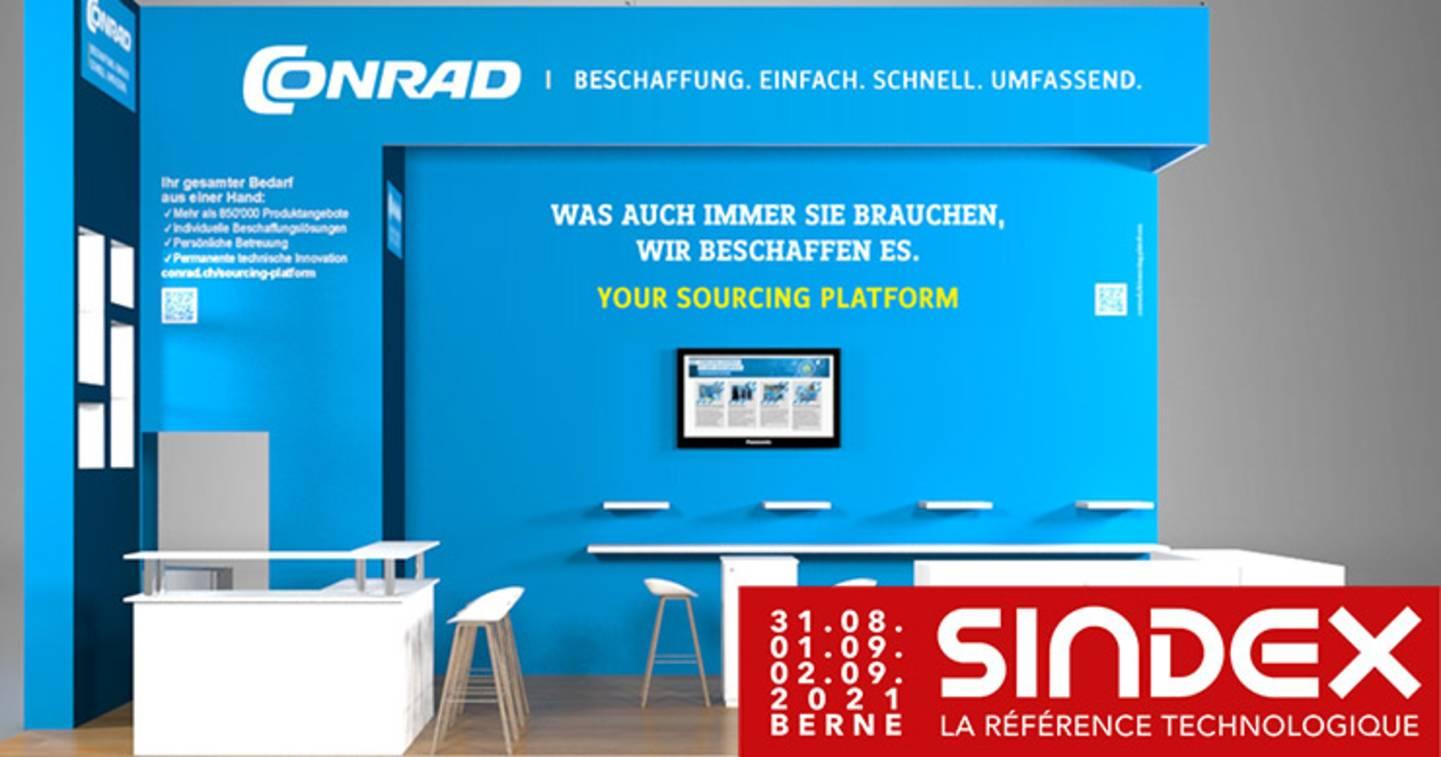 Rendez-nous visite au salon SINDEX du 31 août au 2 septembre 2021 dans le hall 3, stand D-31 . »