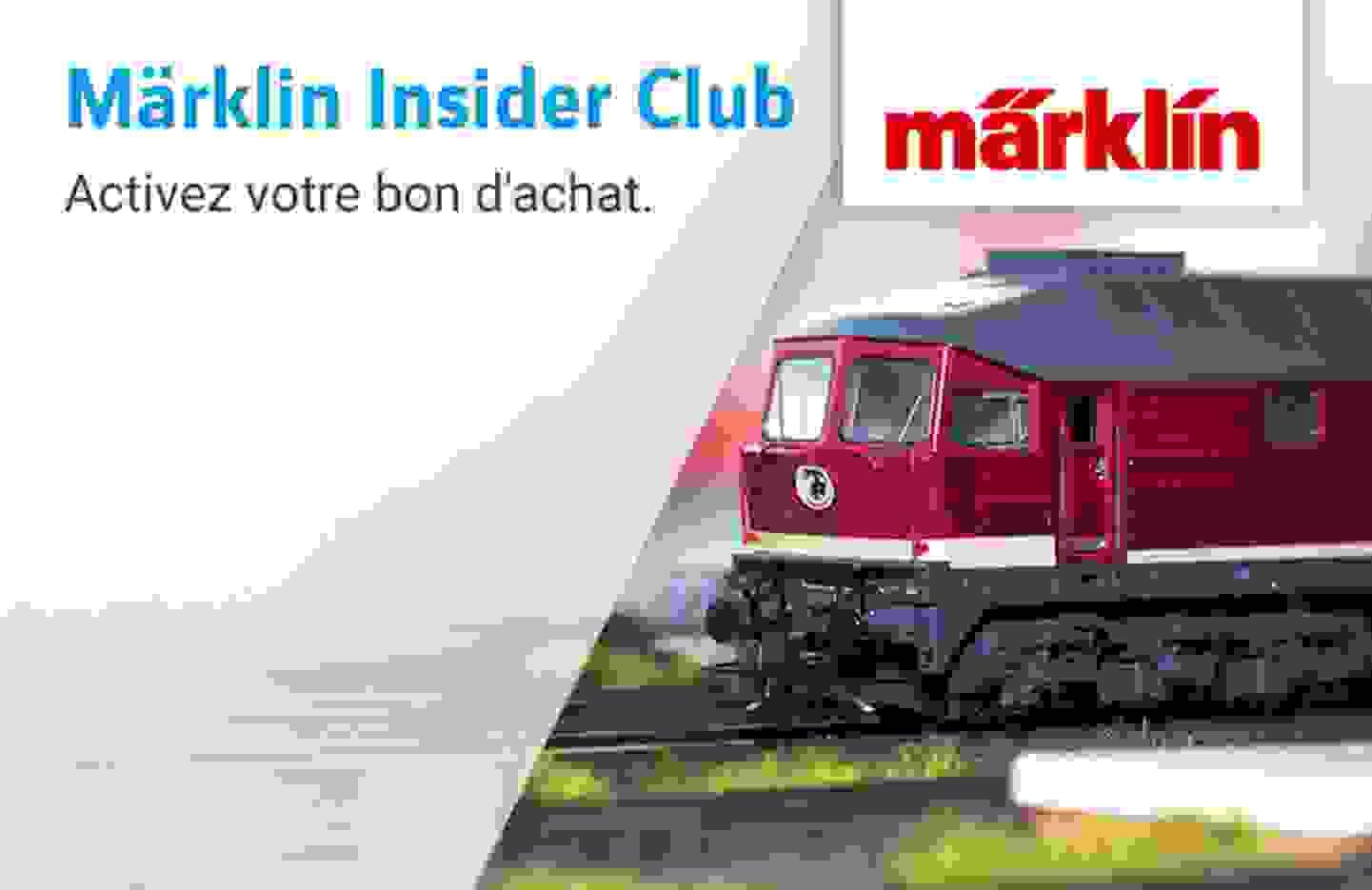 Märklin Insider Club - Bon d'achat »