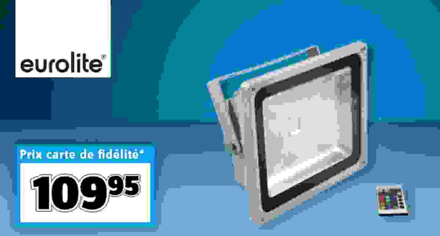 Eurolite - Spot LED d'extérieur »