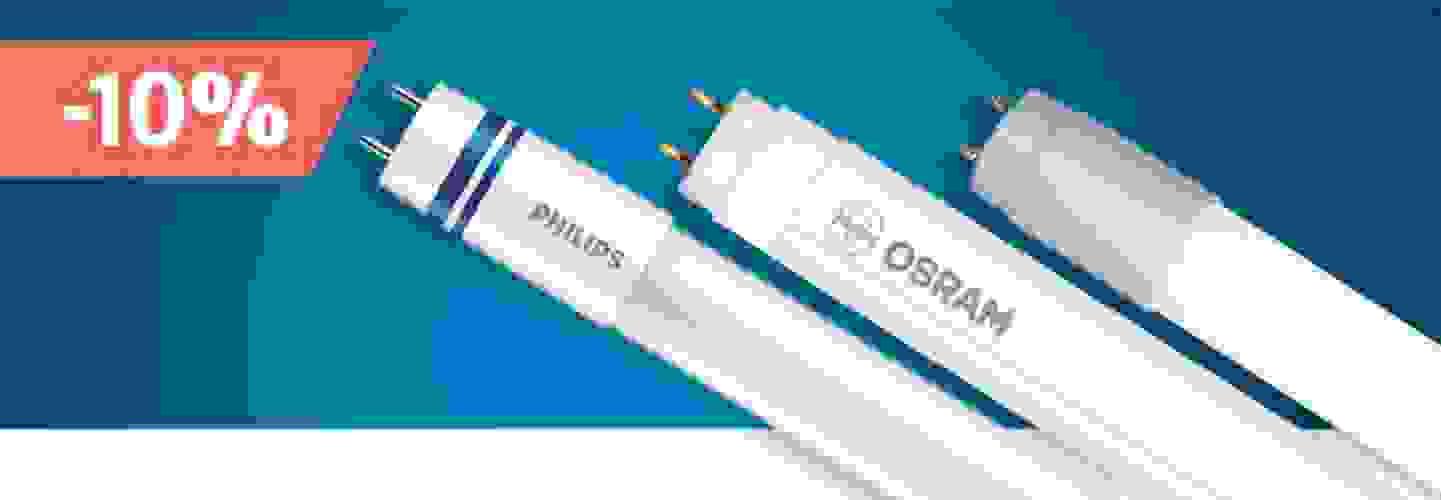 Bénéficiez en tant que membre de Pool-Alpin de 10% de remise sur tous les tubes LED