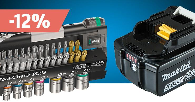 Découvrir tous les accessoires pour outils électriques et profiter des réductions »
