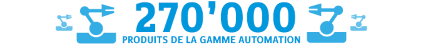270'000 produits de la gamme Automation