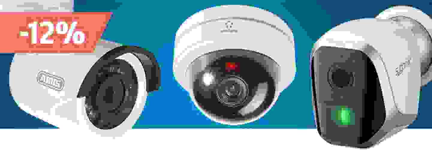 Bénéficiez en tant que membre de Pool-Alpin de 12% de remise sur tous les caméras de surveillance