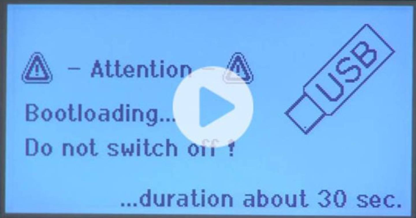 Mises à jour du micrologiciel WX - Vidéo »