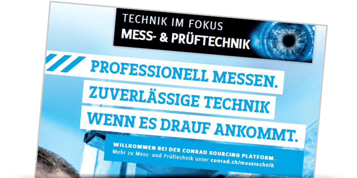Technik im Fokus - Mess- und Prüftechnik »