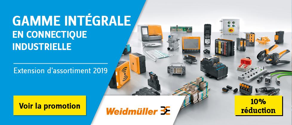 Weidmüller — Votre partenaire connectique.